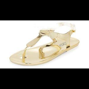 Michael Kors jelly flat sandals